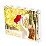 Sooyee 8.5X11 Acrylic Frame, Clear,Magnetic Photo