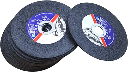 WKSTOOL 10 Pack 4-1//2 x 3//64 x 5//8 Arbor Cutoff Wheels Metal Stainless Steel Cutting Discs For Die Grinders 10, 4-1//73//645//8 for Stainless Steel