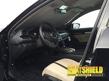 Sunshade For 2016 2017 2018 Honda Civic Sedan Without Lane Warning Sensor  Sunshade #1611