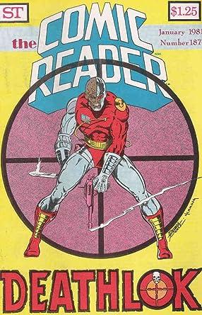 Amazon com: Comic Reader, The #187 VF