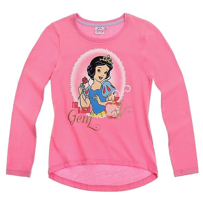 Disney Princess manga larga sudadera para niña 3 diseños y colores a elegir) rosa 8 años : Amazon.es: Ropa y accesorios
