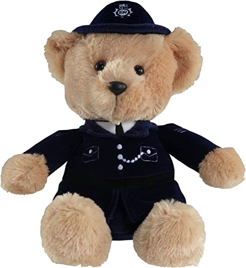 Aurora - Orso Poliziotto, Peluche di 30,5 cm [Importato da Regno