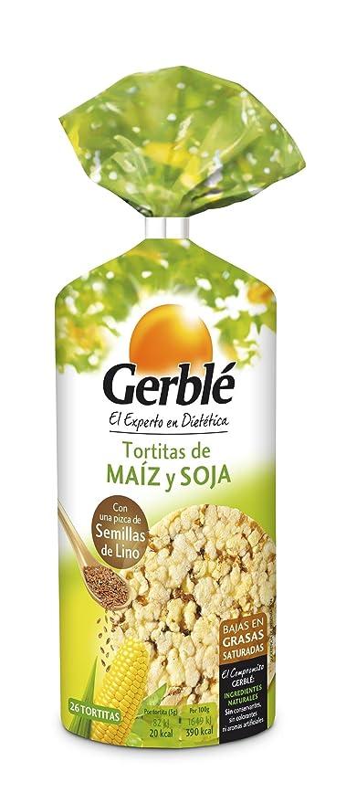GERBLE tortitas de maíz y soja bolsa 122 gr: Amazon.es: Alimentación y bebidas