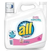 All Liquid Laundry Detergent, Baby, 141 oz