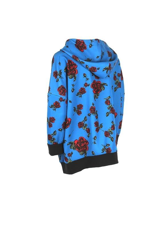 PINKO Felpa Donna M Blu/Rosso Mixer Autunno Inverno 2017/18: Amazon.co.uk:  Clothing