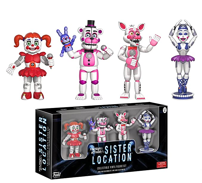 Amazoncom Funko 2 Action Figure Five Nights At Freddys Sister