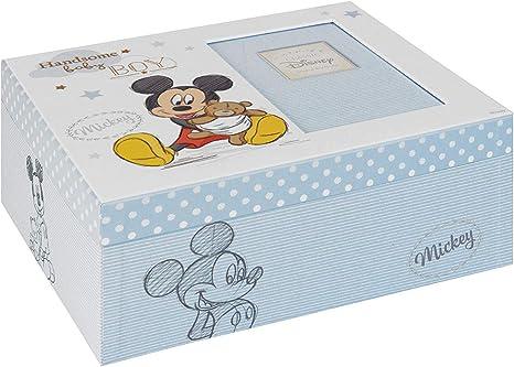 Marca: Disney Baby Magic Beginnings Caja de recuerdos Mickey Mouse Baby Boy DI425, 200 g: Amazon.es: Bebé