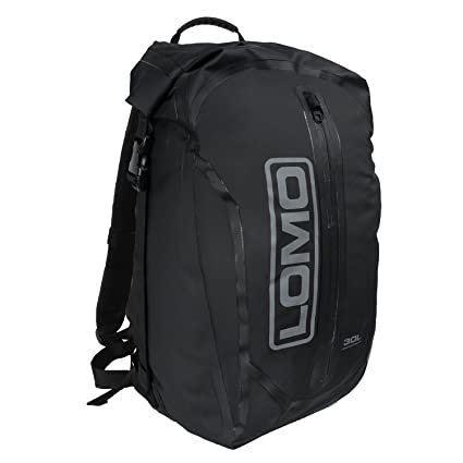 Lomo Dry Bag Daysack 30L - Black Waterproof Rucksack Roll Top Drybag   Amazon.co.uk  Sports   Outdoors 0ece8e4321601