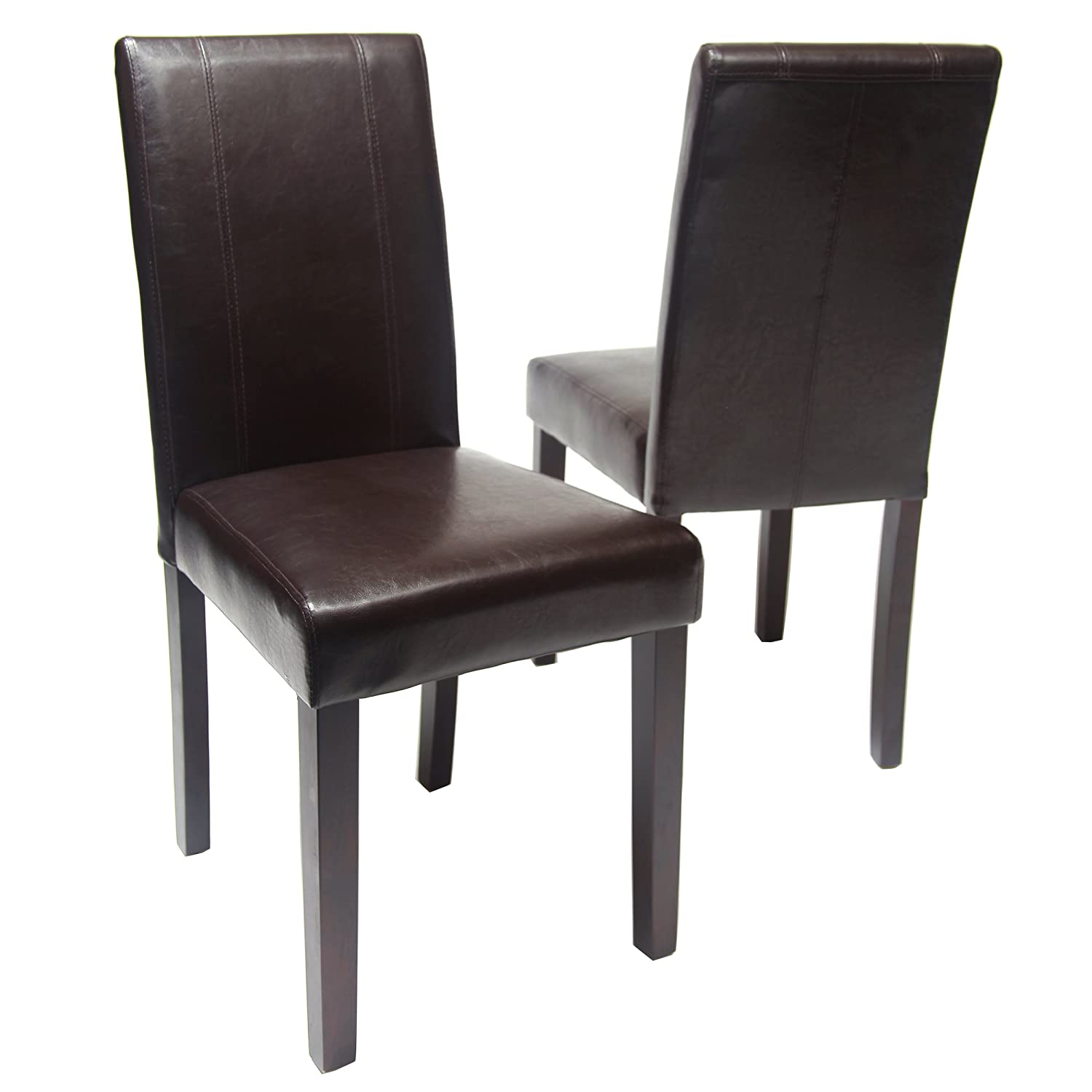 Amazon Roundhill Furniture Urban Style Solid Wood Leatherette