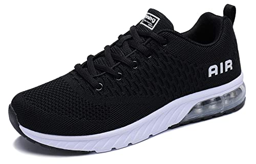 PENGCHENG Men Women Air Cushion Running Shoes Tennis Fitness Gym Lightweight Sneakers