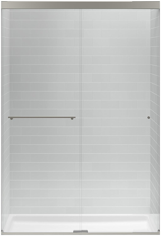 Kohler K 707101 L Bnk Revel Sliding Shower Door With 516 Thick