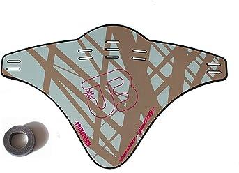JOllify Carbon Mud Guard Fender für MTB Mountainbike – CARBON BEDRUCKT BRAUNTÜRKIS - #516