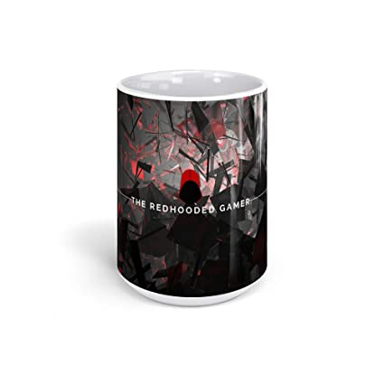 Amazon com: Ceramic Coffee Mug Gamer Video Game Cup The Redhooded