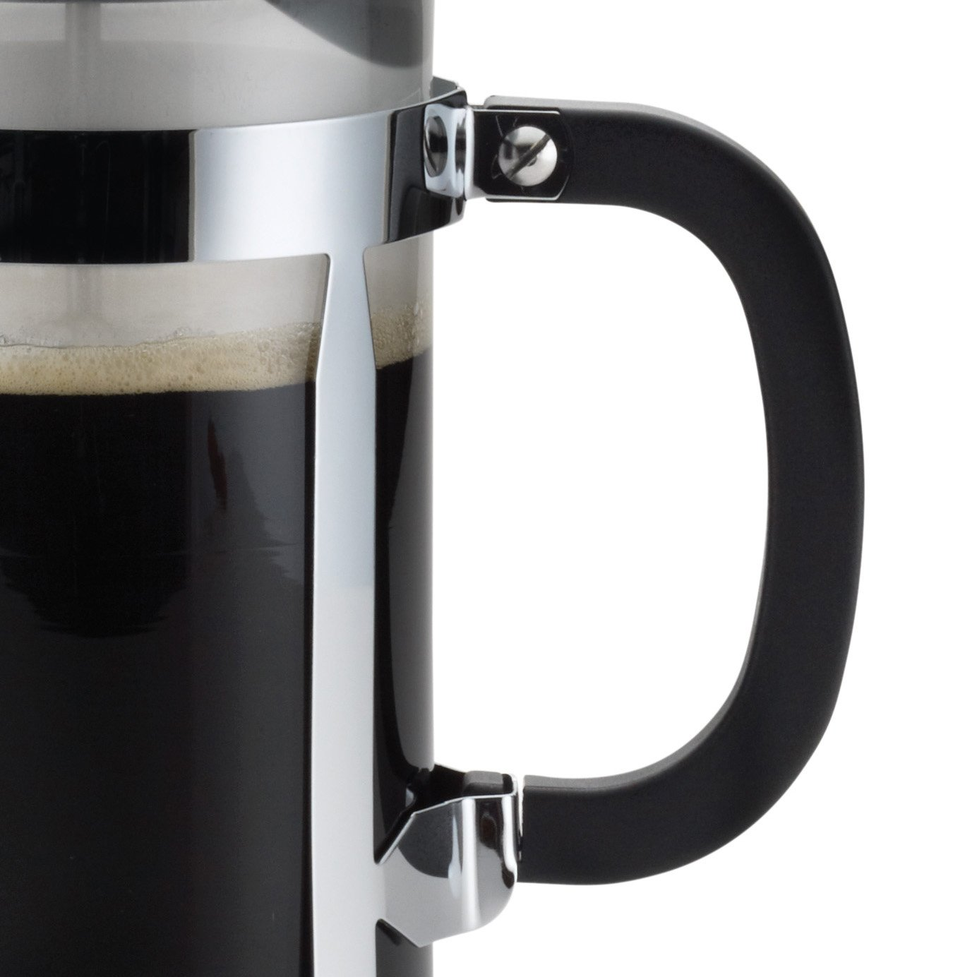 Black Handle Meyer 50985 Bijoux 33.8-Ounce BonJour Coffee Stainless Steel French Press with Glass Carafe