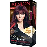 Revlon ColorSilk Buttercream Hair Color, 48 Vivid Burgundy