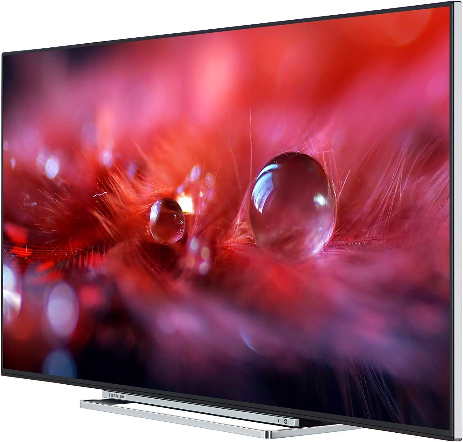 Toshiba 55U5766DB 55-Inch 4K Ultra HD LED Smart TV with Freeview Play - Black TV with a chrome surround (2017 Model) (Certified Refurbished): Amazon.es: Electrónica
