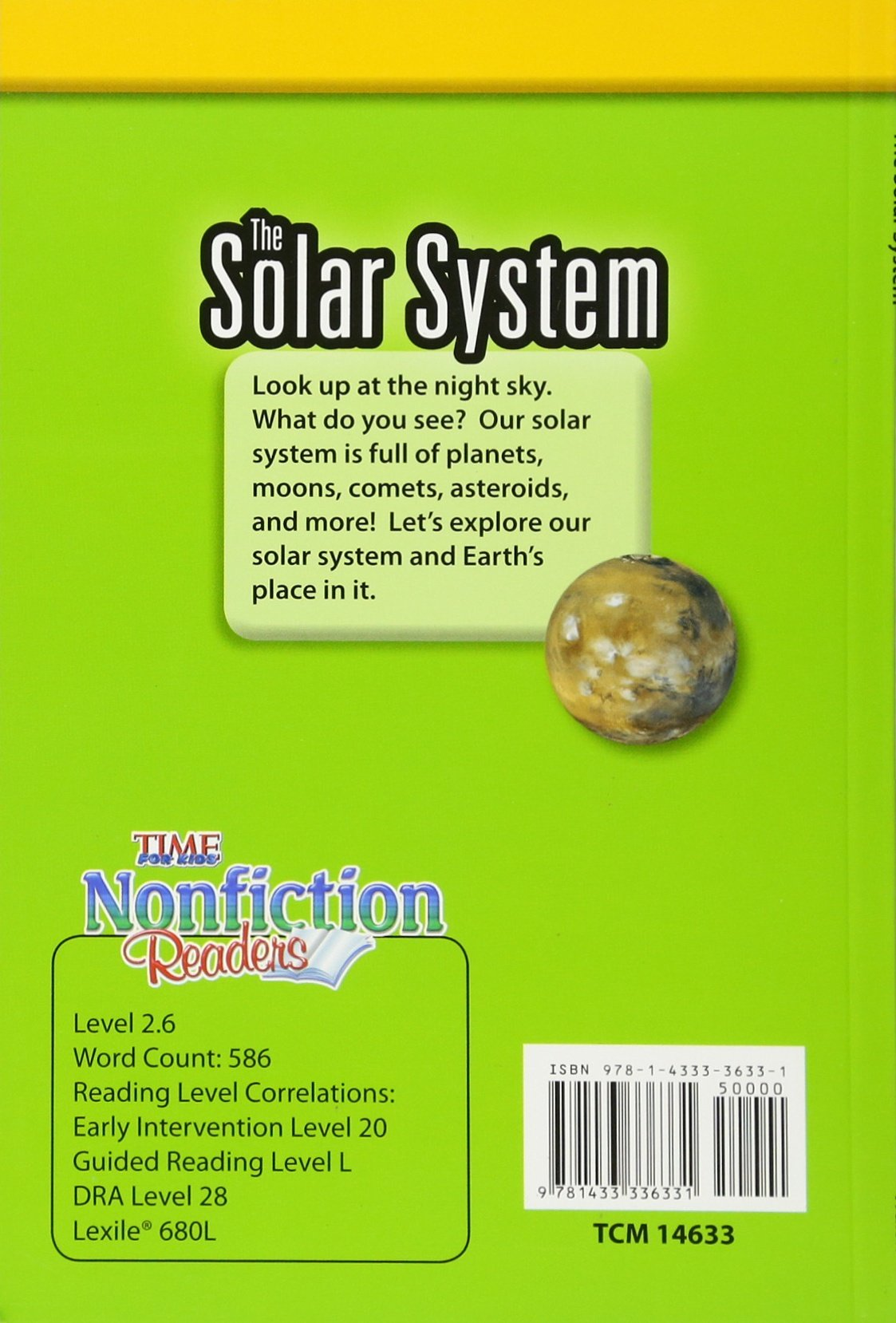 Buy The Solar System: Early Fluent Plus (Time for Kids Nonfiction Readers)  Book Online at Low Prices in India | The Solar System: Early Fluent Plus ( Time ...