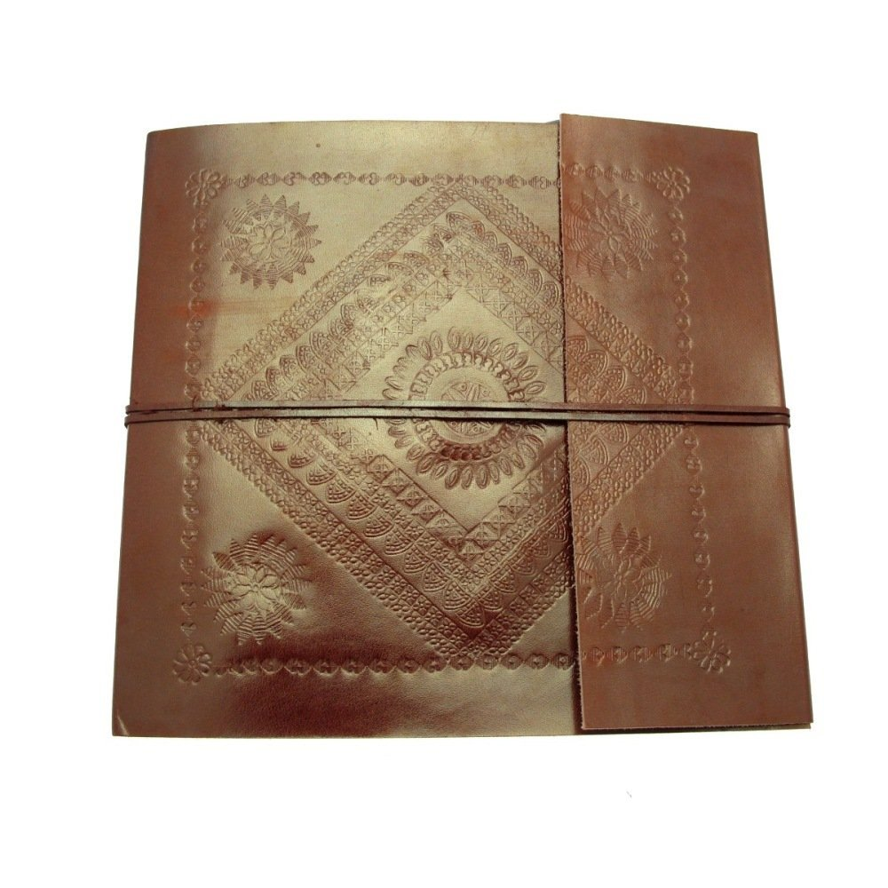 Paper High Large Embossed Leather Photo Album 260 x 240mm