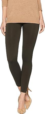 5eee7010f4614 SPANX Women's Look at Me Now Seamless Side Zip Leggings Deep Olive Small 23
