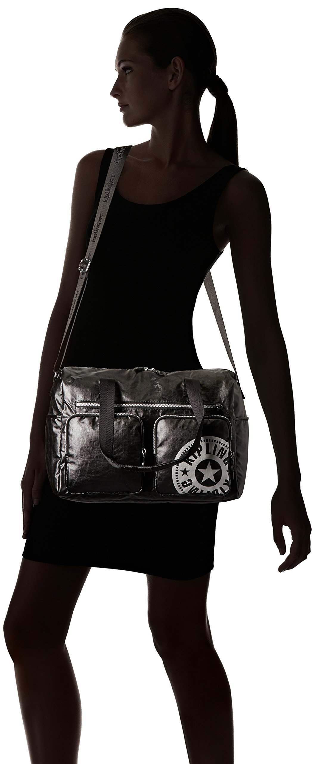 Kipling Stefany Lacquer Black Sport Tote, Lacqrblack by Kipling (Image #7)