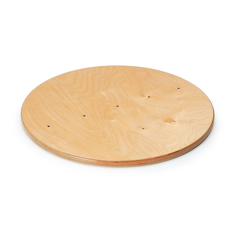 calidad auténtica Erzi 48,6 48,6 48,6 x 1,8 cm alemán Baseplate Juguete de madera para el Balón de Hipódromo  venta caliente
