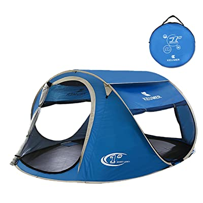 Pop Up Tent Beach Cabana Automatic Instant Setup Water Resistant Ventilation