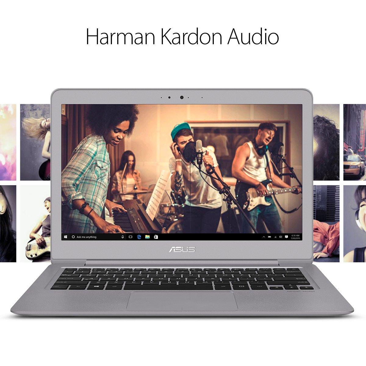 ASUS ZenBook UX330UA-AH54 13.3-inch LCD Ultra-Slim Laptop (Core i5 Processor, 8GB DDR3, 256GB SSD, Windows 10) w/ Harman Kardon Audio, Backlit keyboard, Fingerprint Reader by Asus (Image #5)