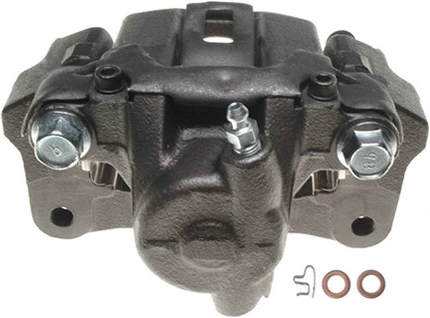 Friction Ready Coated Remanufactured ACDelco 18FR1381C Professional Front Disc Brake Caliper Assembly without Pads