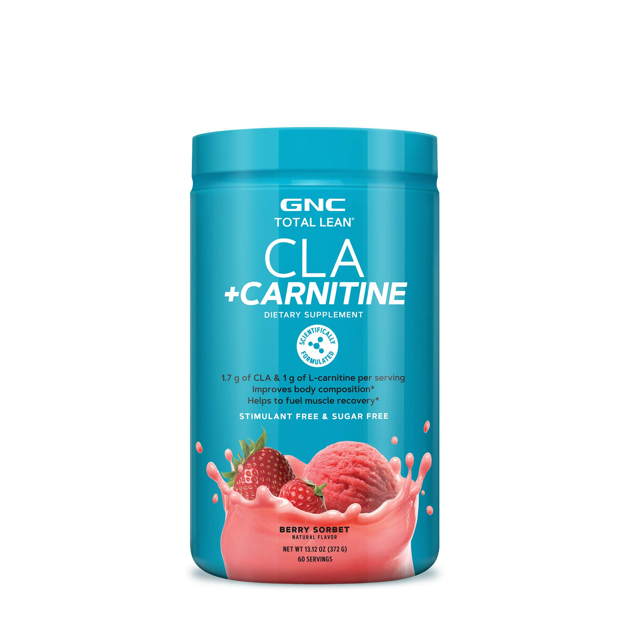 GNC Total Lean CLA Carnitine - Berry Sorbet by GNC (Image #1)