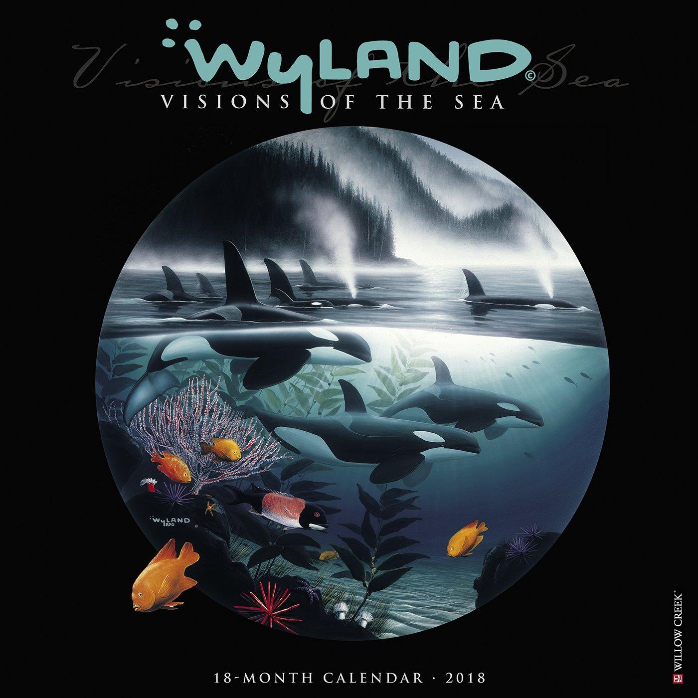 Wyland Visions of the Sea 2018 Calendar pdf