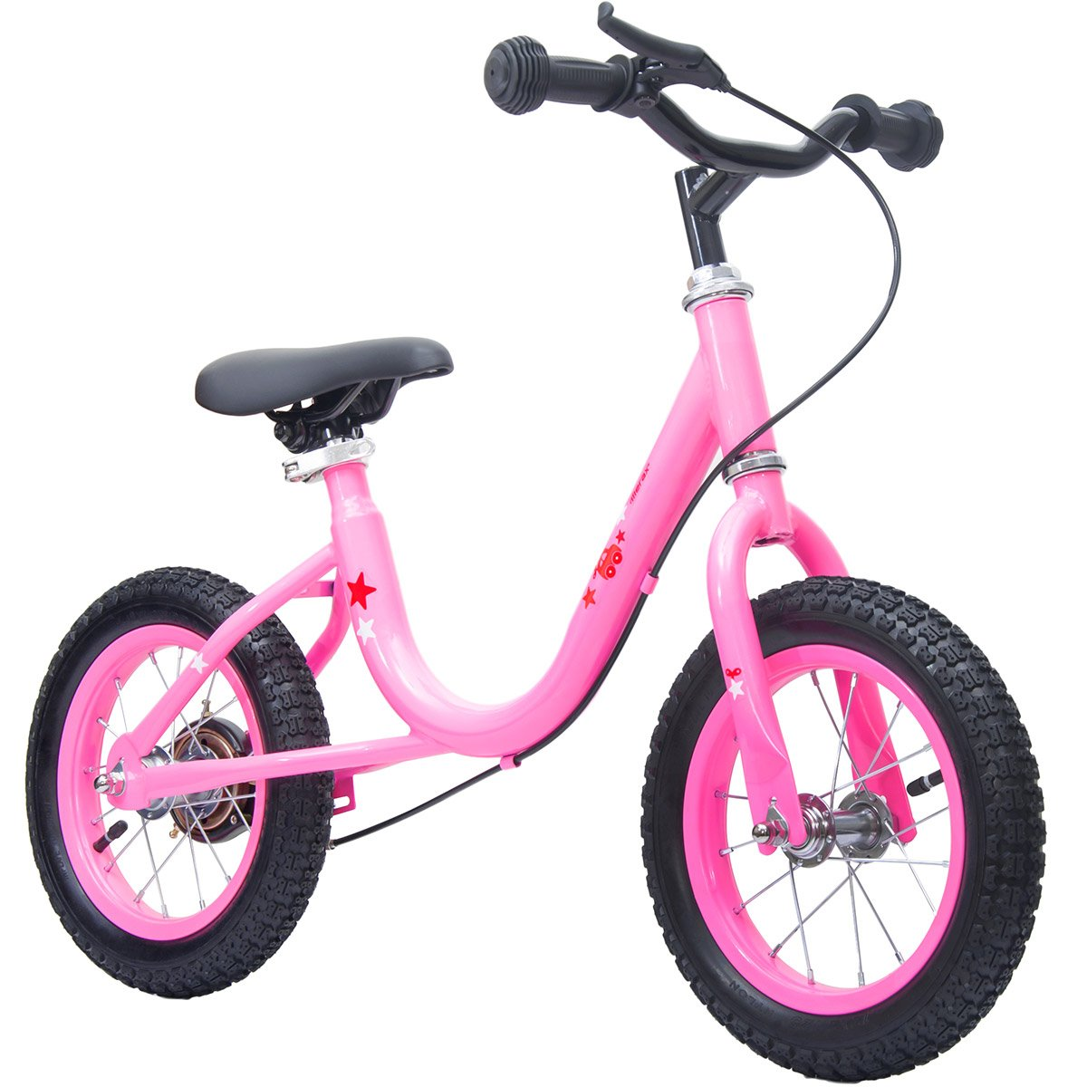 Merax Fun Series Kids' Balance Bike (Pink)