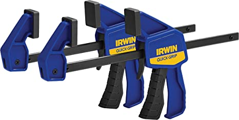 "-Irwin 6/"" Jaw Capacity Mini Trigger Lock Quick-Grip Bar Clamp 1964742 5"