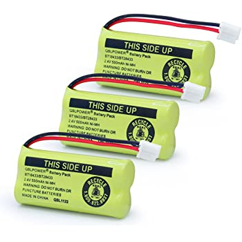 Amazon Com Axiom 3pack Rechargeable Battery For