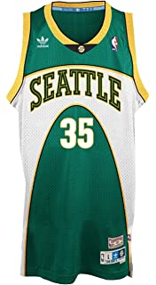 40f473781 Kevin Durant Seattle Supersonics Adidas NBA Throwback Swingman Green Jersey  (X-Large)
