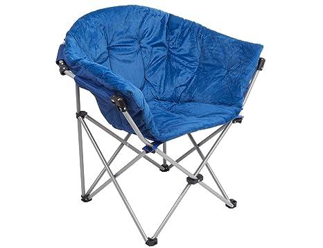 Foldable Saucer Moon Chair Dorm Club Chair Half Round Soft Comfortable  Short Plush Faux Fur Padded