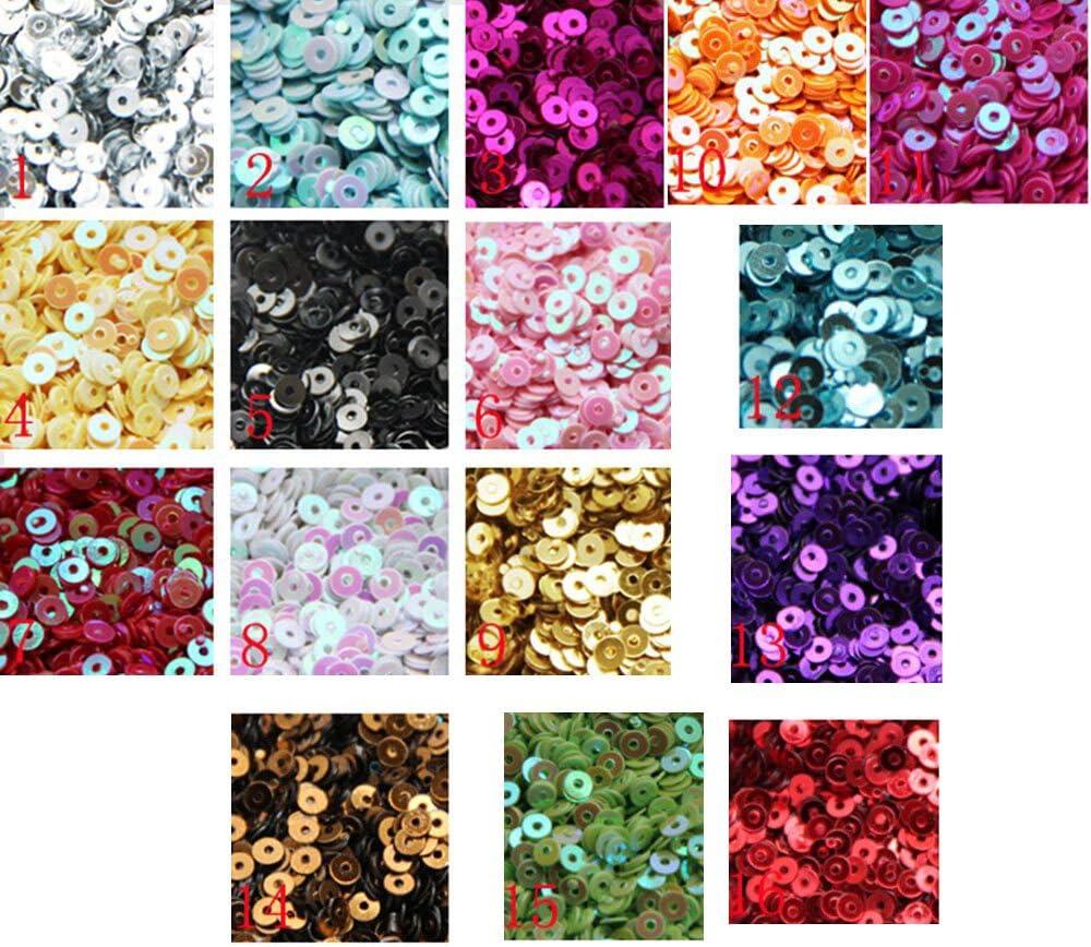 4 Y different color sequinc trim gold pink purple 1//8/'/' Pick your color
