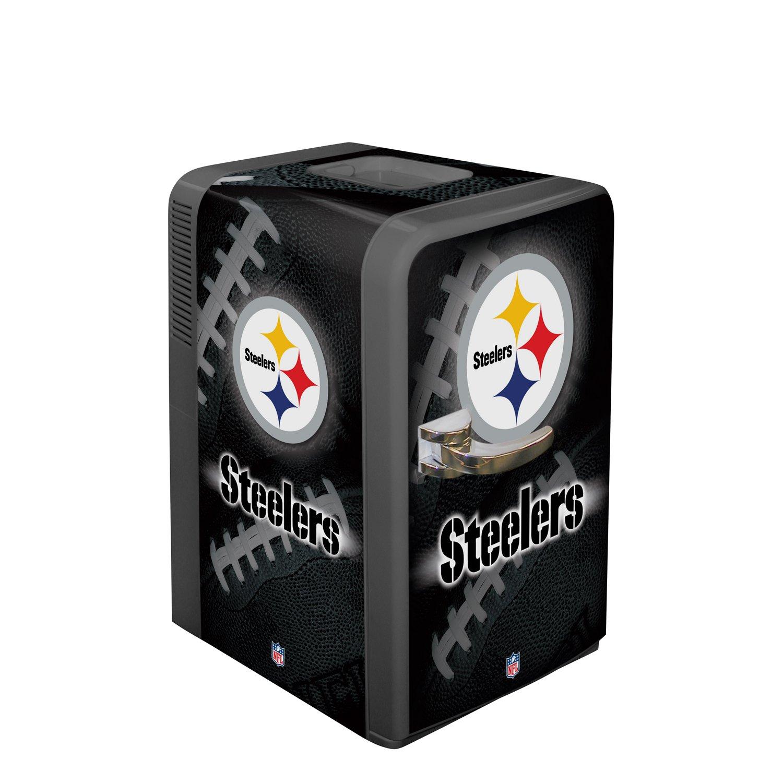 NFL Pittsburgh Steelers Portable Party Fridge, 15 Quart