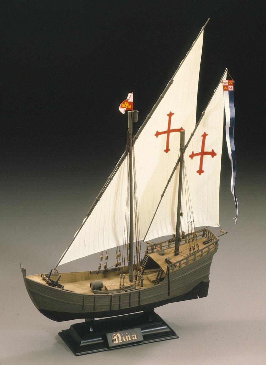 Modellino da costruire Caravella Nina Heller 80815 Importato da Francia scala 1:75