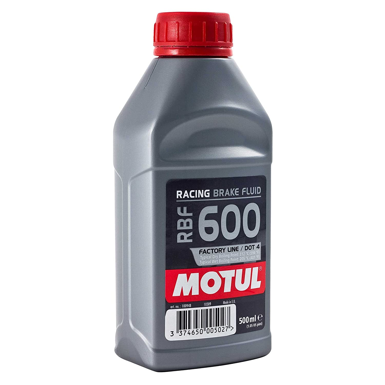 Motul Bidon DE 0, 5 l de Liquide de Frein RBF 600 Racing 5 l de Liquide de Frein RBF 600Racing 100948