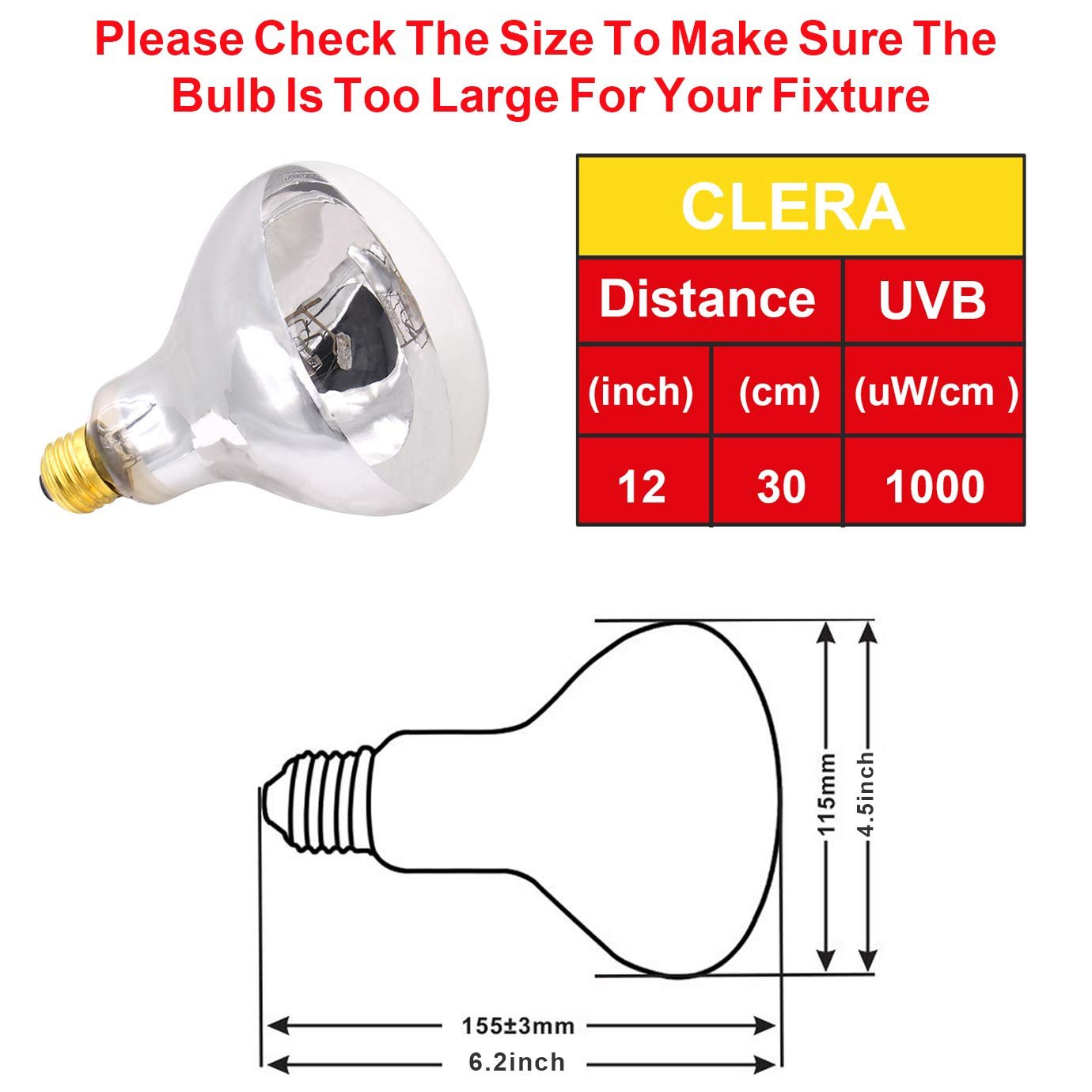 Uva Uvb Mercury Vapor Bulb 100w Sun Simulating Wiring Diagram For Vapour Light Free Download High Intensity Heat Reptile And Amphibian Use
