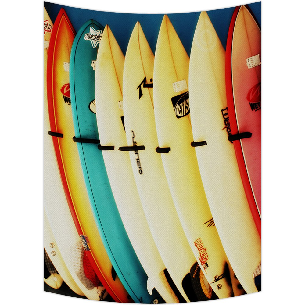 Amazon.com: Custom Colorful Surfboard Tapestry Wall Hanging,Wall Art ...