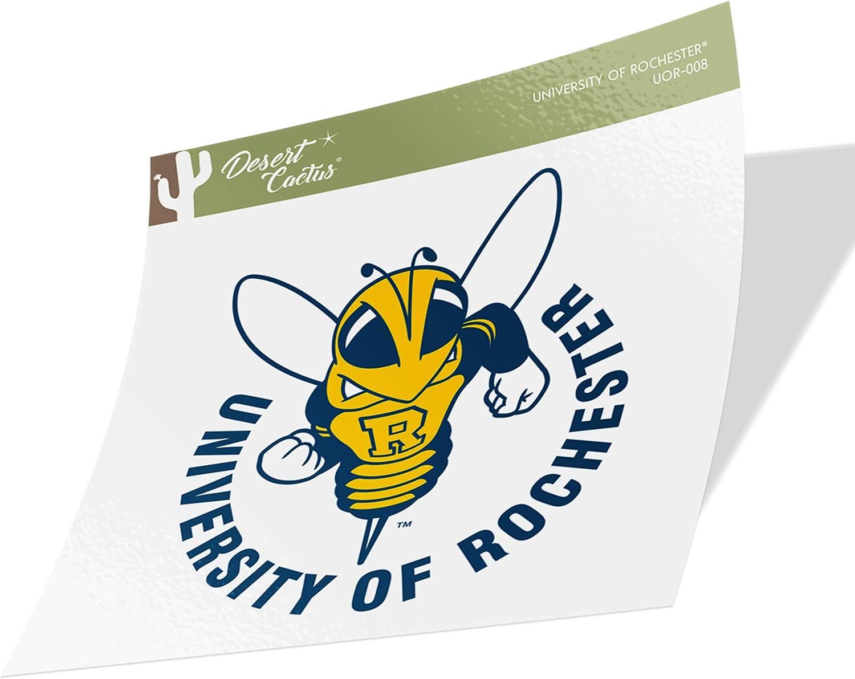 Sticker - 008 University of Rochester Yellowjackets NCAA Vinyl Decal Laptop Water Bottle Car Scrapbook