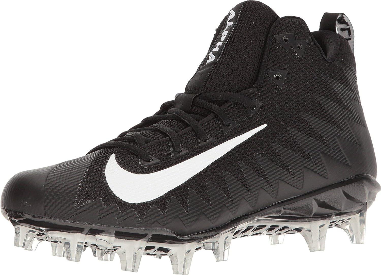 Nike Alpha Menace Pro Mid Footballschuhe - schwarz