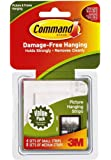Command Picture Hanging Strips Variety Value Pack, 4-Small and 8-Medium Strips, 4-Pack