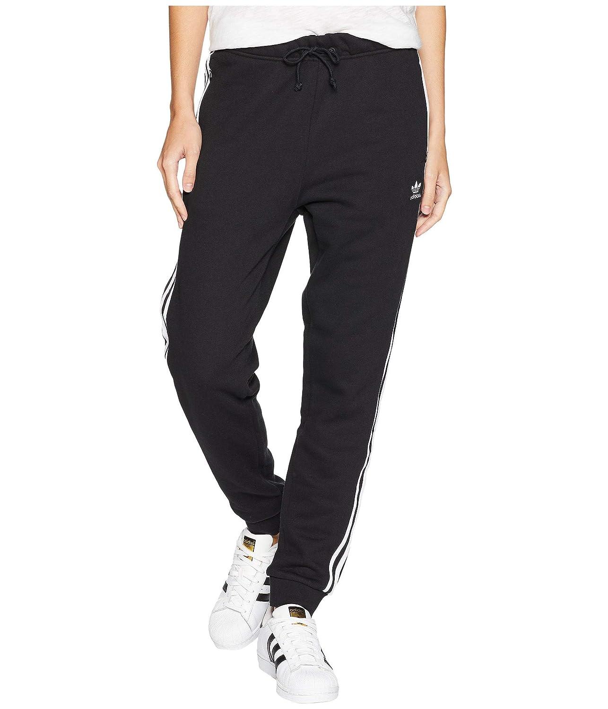 [adidas(アディダス)] レディースパンツジャージレギンス Regular Cuffed Track Pants Black XS B07H8F76BR