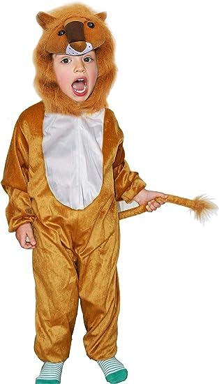 Fun Play - Disfraz de León para niños - Disfraz de Animal - Mono ...