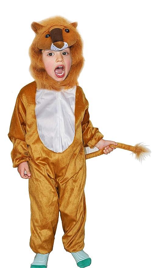 Fun Play - Disfraz de León para niños - Disfraz de Animal ...