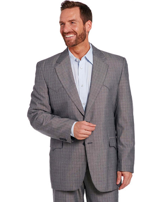 Circle S Men's Grey Houston Sportcoat Grey 48 REG
