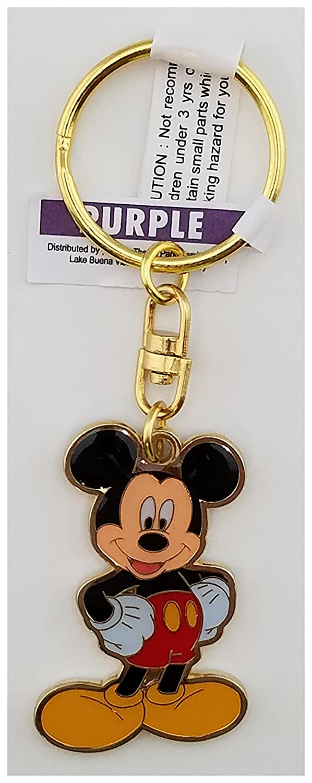 Parques de Disney - Llavero Mickey Mouse oro tono giratorio ...