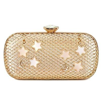 ZYXCC Sac à main femme métal creux maille dorée sac à bandoulière  personnalisé ... 74c2b144c23